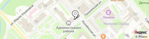 Представительное Собрание Вологодского муниципального района на карте Вологды