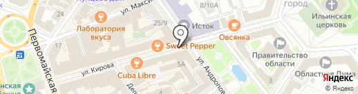 SmokeLab на карте Ярославля