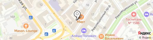 Бизнес Центр на Нахимсона на карте Ярославля