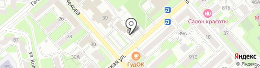 Вологодская прокуратура по надзору за соблюдением законов в исправительных учреждениях на карте Вологды