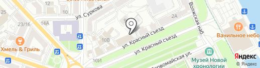 Молодая гвардия Единой России на карте Ярославля