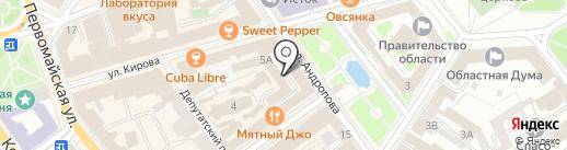 МИКРОН на карте Ярославля