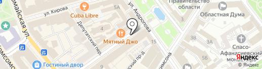 Городское отделение Ярославской областной общественной организации ветеранов (пенсионеров) войны, труда, вооруженных сил на карте Ярославля