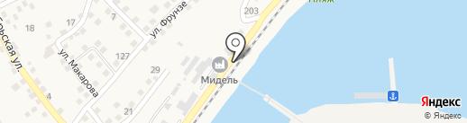Судоверфь Дон-Кассенс Аксай на карте Аксая