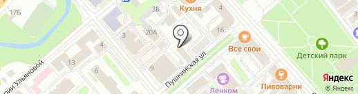 Служба по правам ребенка на карте Вологды