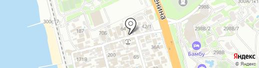 Три богатыря на карте Сочи