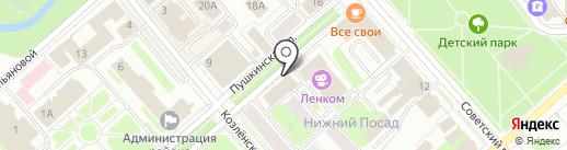 Прокуратура Вологодской области на карте Вологды