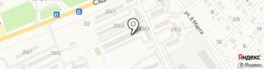Мирабелль на карте Аксая