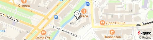 Ажур на карте Вологды