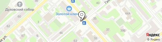 МиМП на карте Вологды