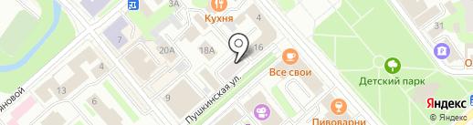 ЭкоТренд на карте Вологды