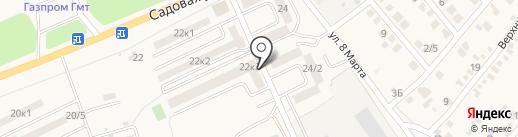 Квартал, ТСЖ на карте Аксая
