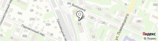 МК-Строй на карте Вологды