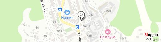 ХМЕЛЬНАЯ ЛАВКА на карте Сочи