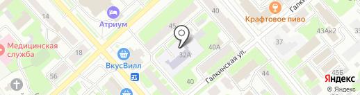 Гимназия №2 на карте Вологды