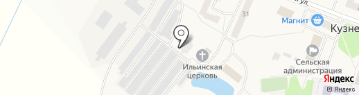 Церковь Казанской Божией Матери на карте Кузнечихи
