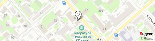 Банкомат, КБ Северный кредит на карте Вологды