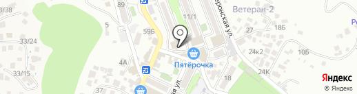 Магазин живого пива на карте Сочи