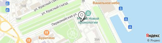 Служба велопроката на карте Ярославля