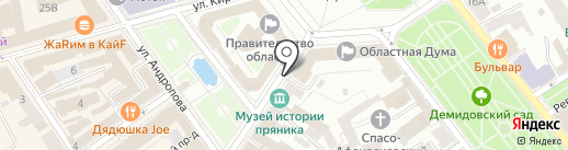 КотоКафе на карте Ярославля