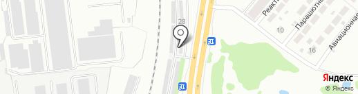 Автомастерская на карте Ярославля