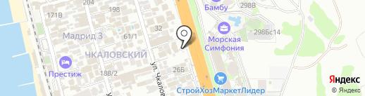 Янаис на карте Сочи