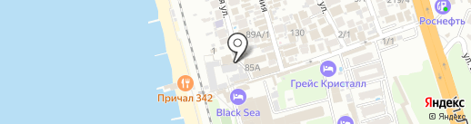 ЮГра на карте Сочи