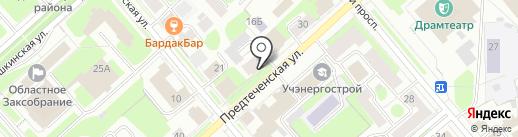 Арт Нейл на карте Вологды