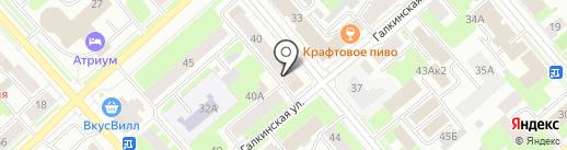 Магазин электротоваров на карте Вологды
