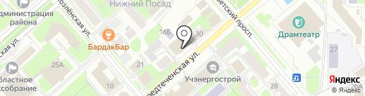 ГТРК Вологда на карте Вологды