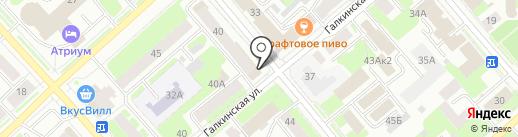 Деловая книга на карте Вологды