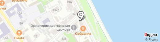 Галерея живописи братьев Шихановых на карте Ярославля