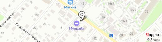МебельЯрко на карте Ярославля