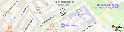 Power на карте Ярославля