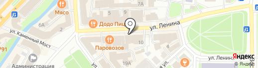 Шаурман на карте Вологды
