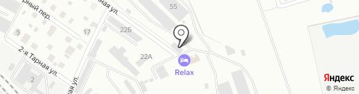 Стройтехрегион на карте Ярославля