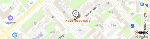 По пути на карте Вологды