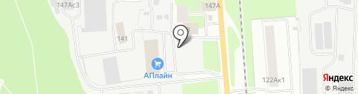 Автомания на карте Вологды