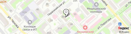 НСГ Страхование жизни на карте Вологды