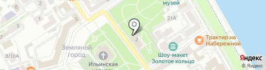 Музей зарубежного искусства на карте Ярославля