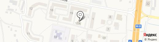 Лесная поляна, ПО на карте Кузнечихи