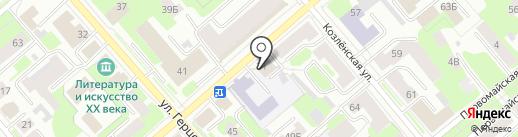 Веха на карте Вологды