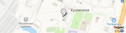 Администрация сельского поселения Кузнечихинское на карте Кузнечихи