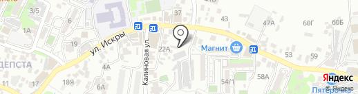 Окна Века на карте Сочи