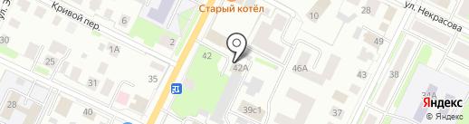 Торговый Дом Арсенал на карте Вологды