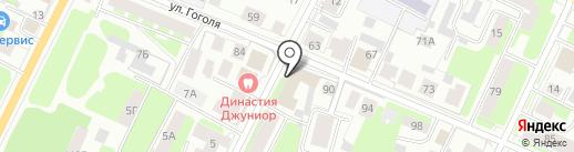 АКМЕРА на карте Вологды