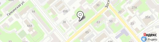 Анлита на карте Вологды