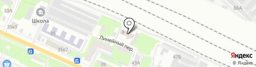 Ведомственная охрана железнодорожного транспорта РФ на карте Вологды