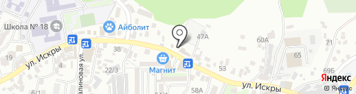 Магазин товаров для праздника на карте Сочи
