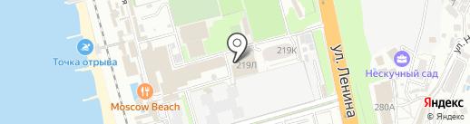Спортивный комплекс Александра Карелина на карте Сочи